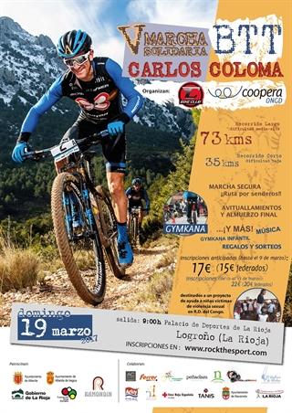 Este domingo 19 de marzo, nueva Marcha Solidaria BTT Carlos Coloma 1
