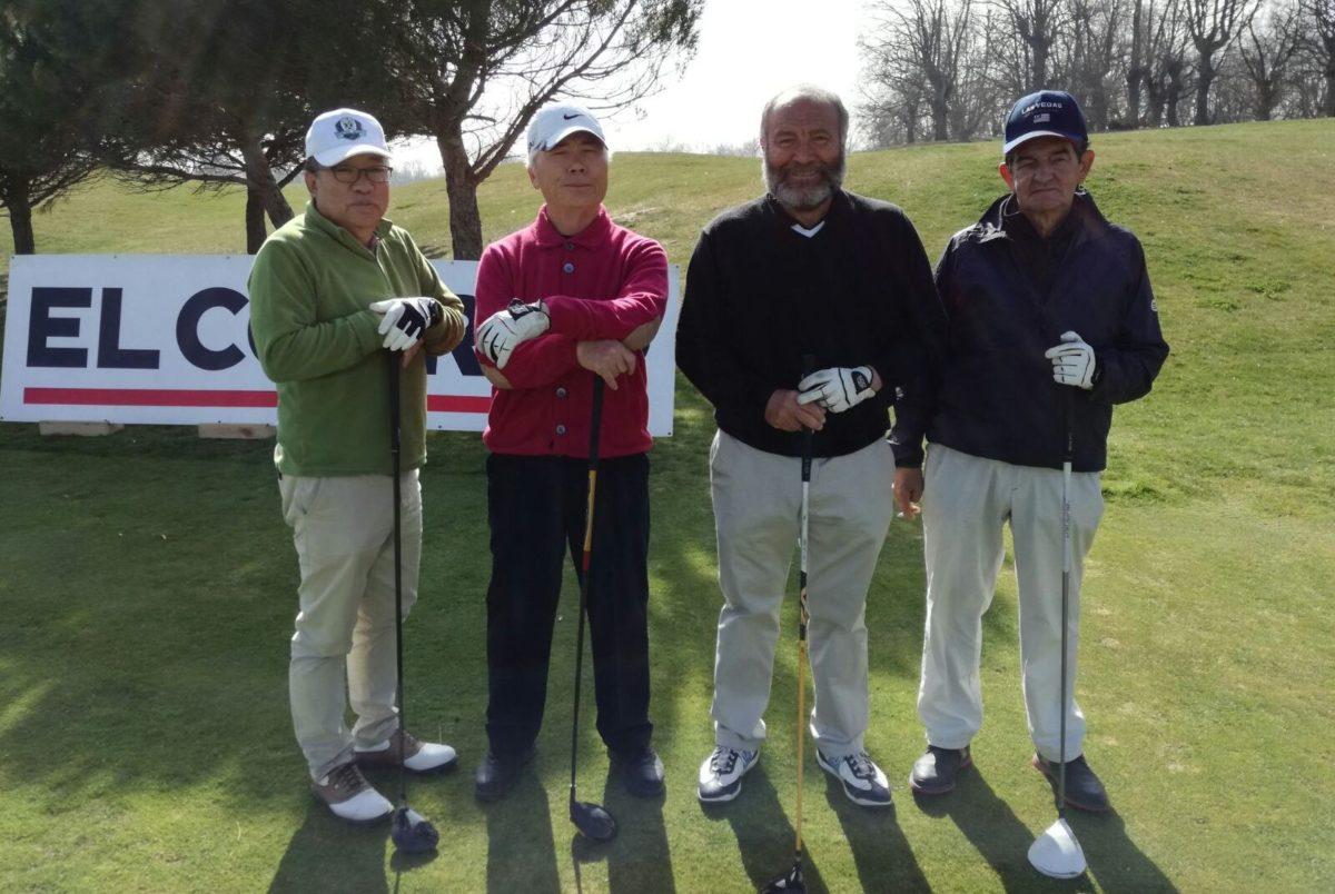 Las imágenes de la primera jornada del Torneo de Golf Amateur 'El Correo' 14