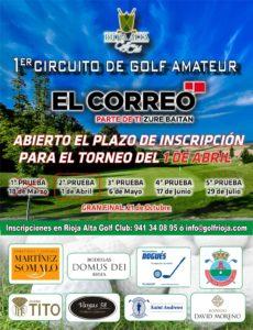Las imágenes de la primera jornada del Torneo de Golf Amateur 'El Correo' 1