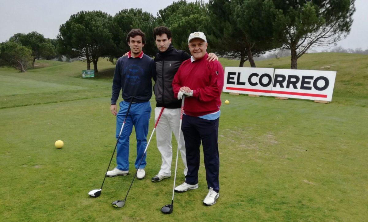 Las imágenes de la primera jornada del Torneo de Golf Amateur 'El Correo' 8