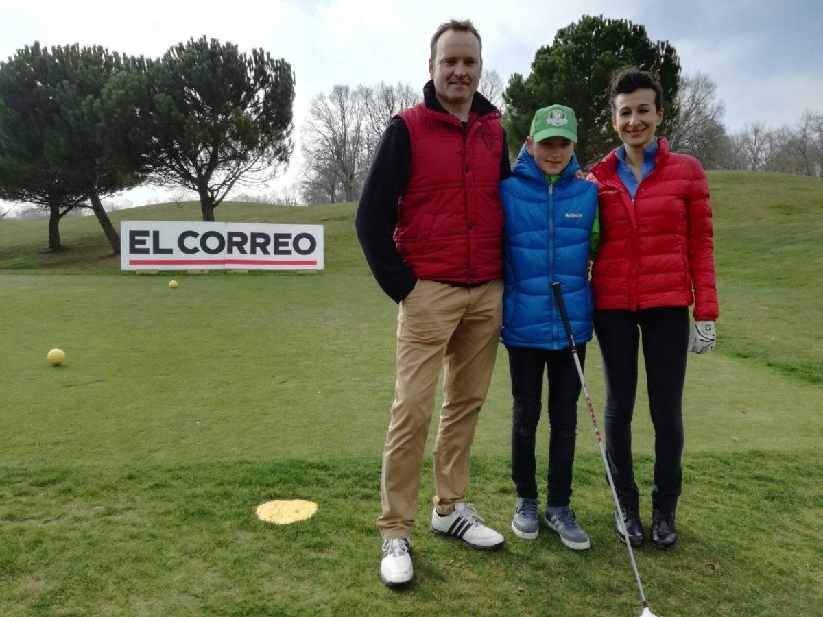 Las imágenes de la primera jornada del Torneo de Golf Amateur 'El Correo' 9