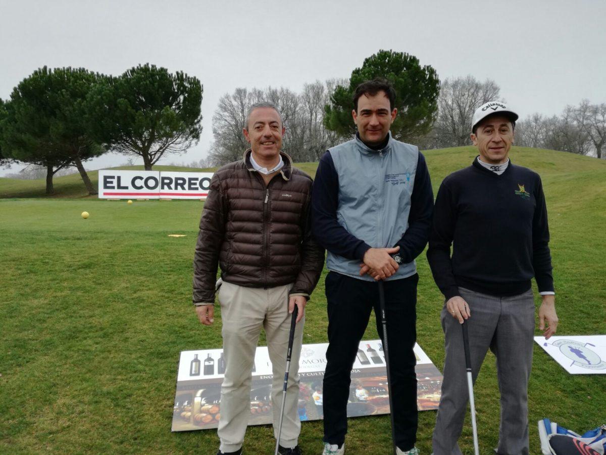 Las imágenes de la primera jornada del Torneo de Golf Amateur 'El Correo' 10