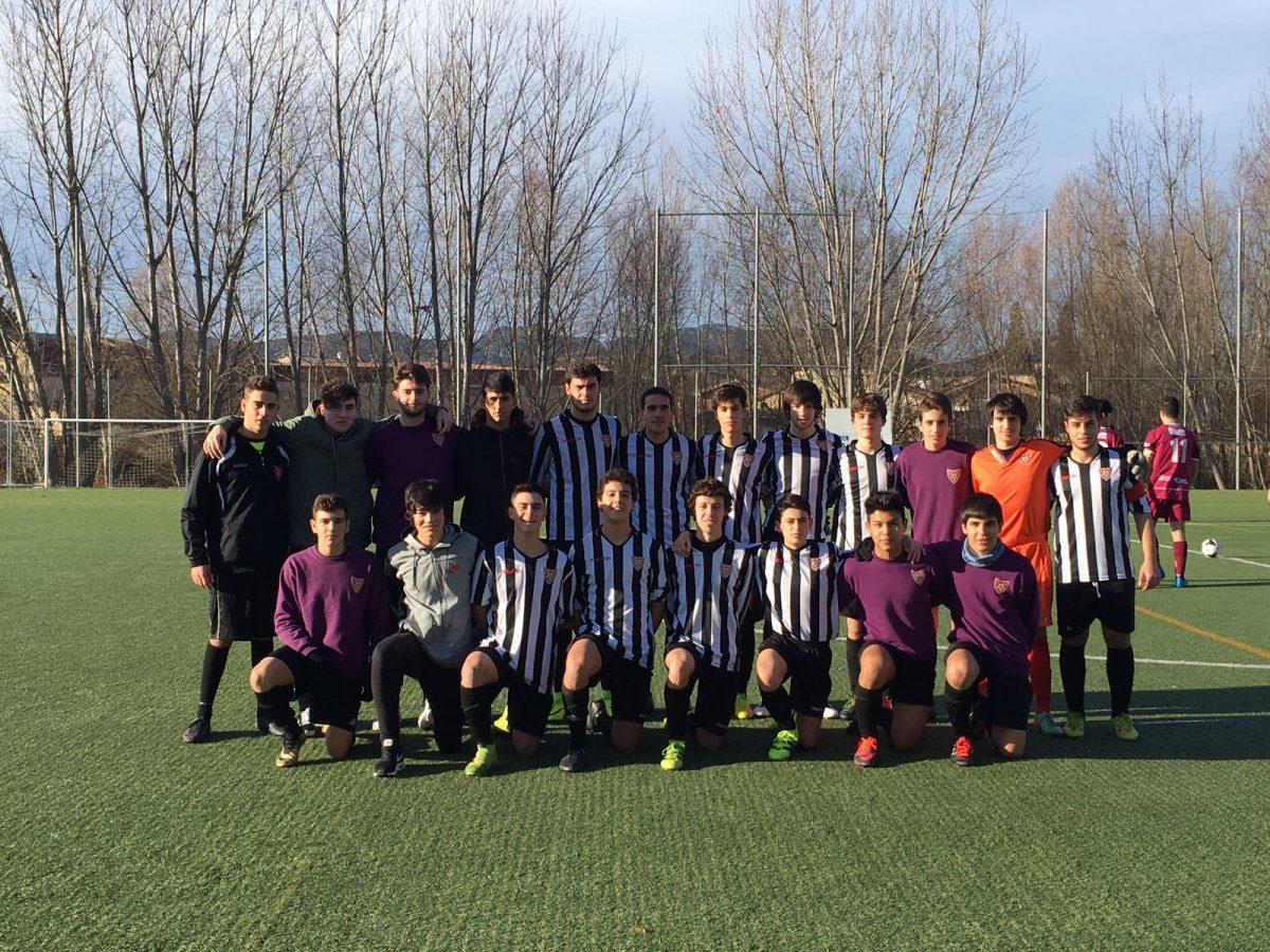 Último partido para el juvenil del HSC de la primera vuelta de la fase de ascenso 1