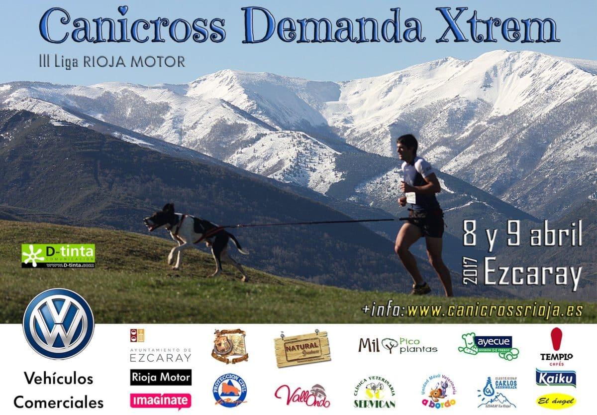 Ezcaray acoge desde el sábado la tercera edición del 'Canicross Demanda Xtrem' 1