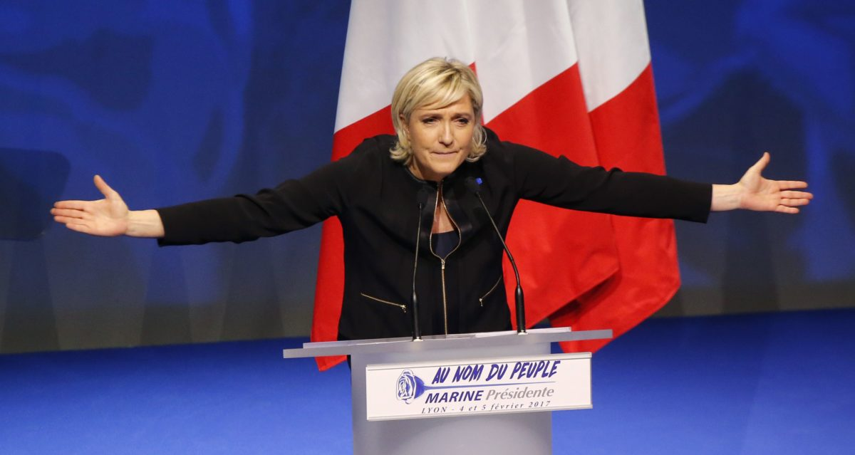 Marine Le Pen | AP Photo/Michel Euler