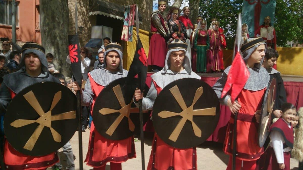 El Reino de Nájera oficializará este sábado su pertenencia a la Asociación Española de Fiestas y Recreaciones Históricas 2