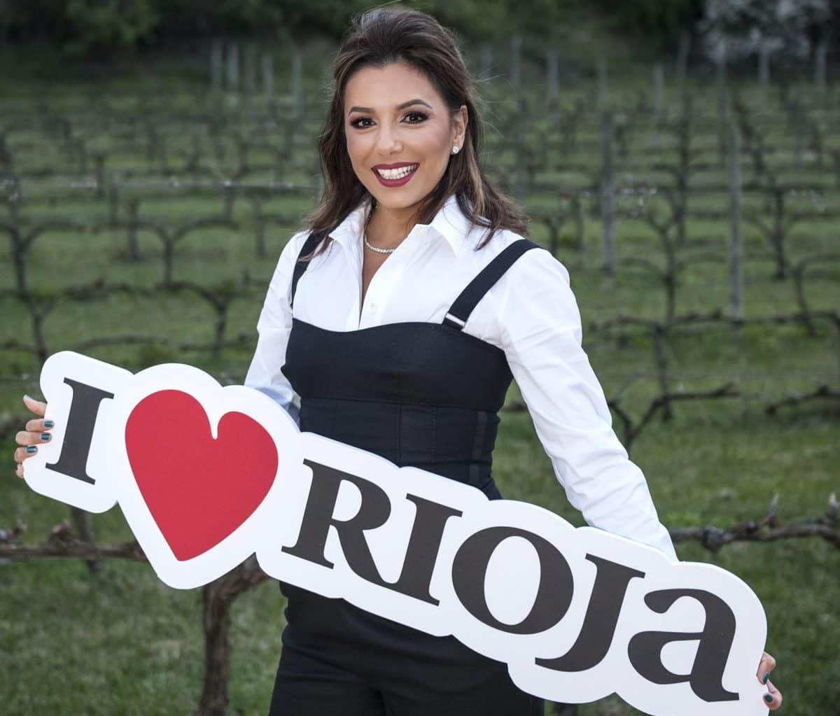 Eva Longoria cumple su promesa y visita la DOC Rioja 1