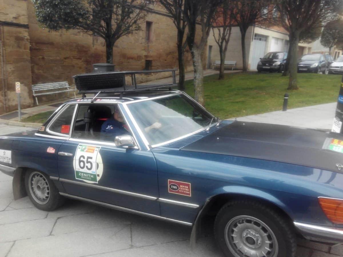 La prueba de coches clásicos Londres-Lisboa llega a Santo Domingo de La Calzada 11