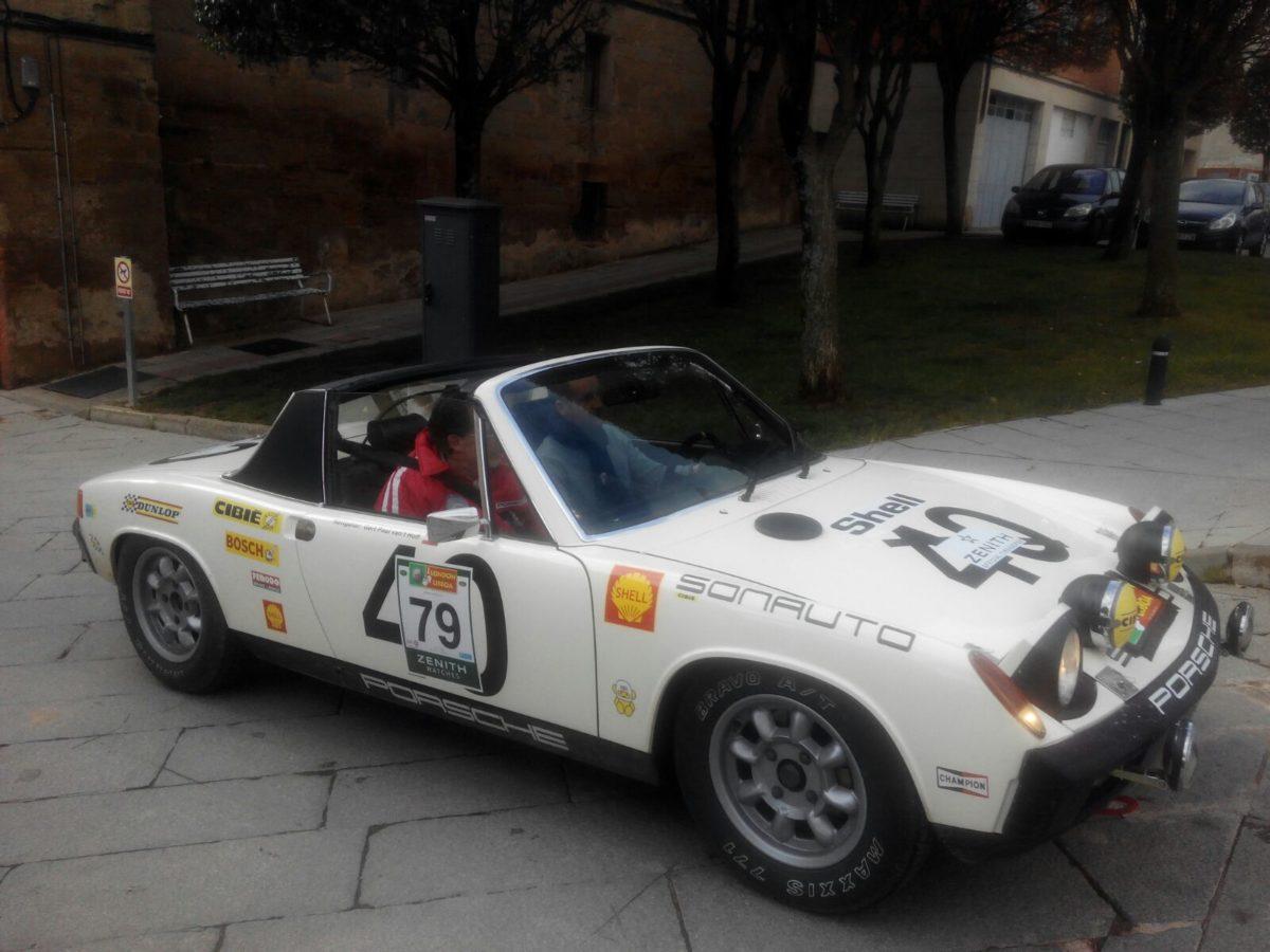 La prueba de coches clásicos Londres-Lisboa llega a Santo Domingo de La Calzada 20