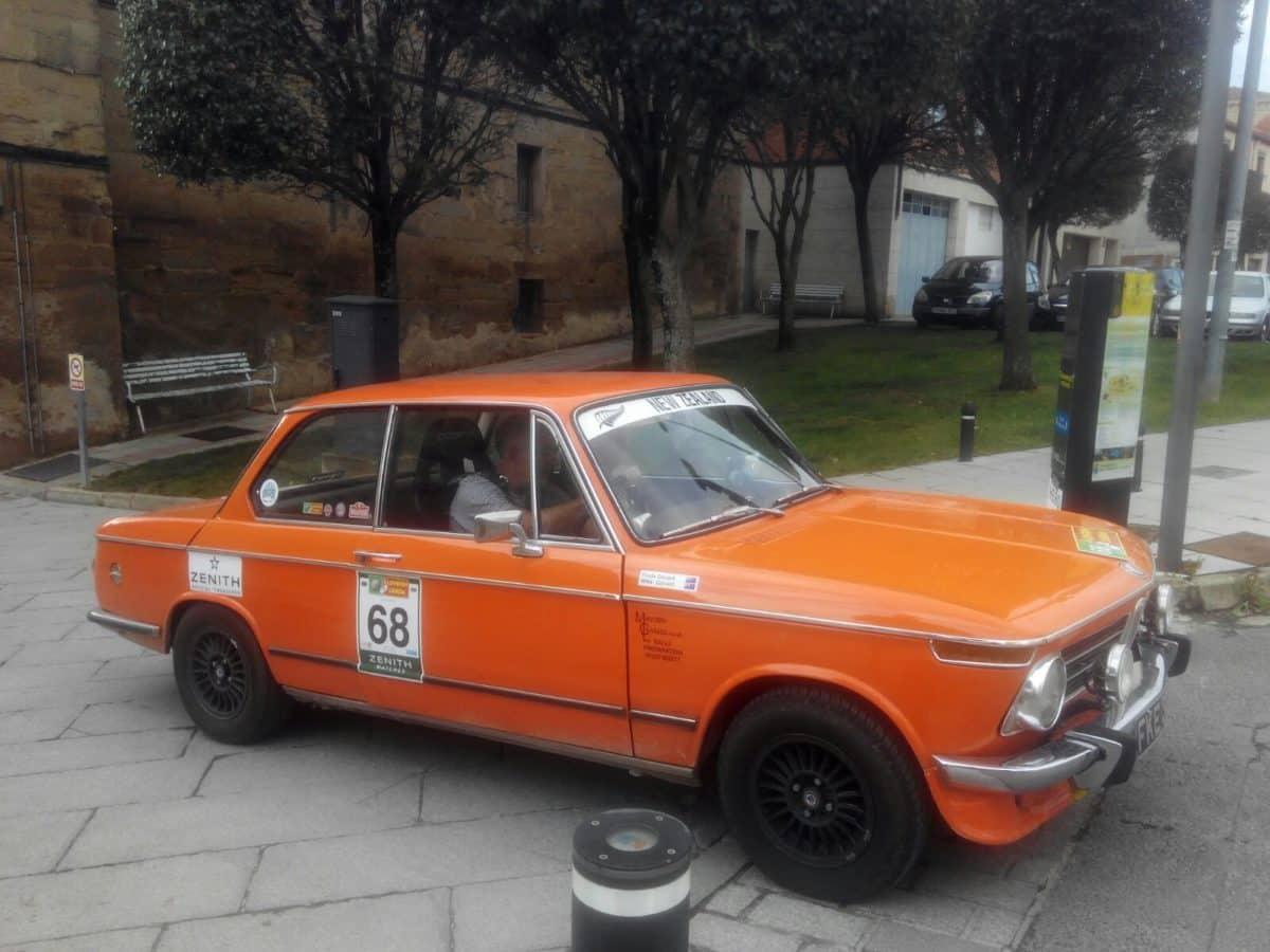 La prueba de coches clásicos Londres-Lisboa llega a Santo Domingo de La Calzada 22