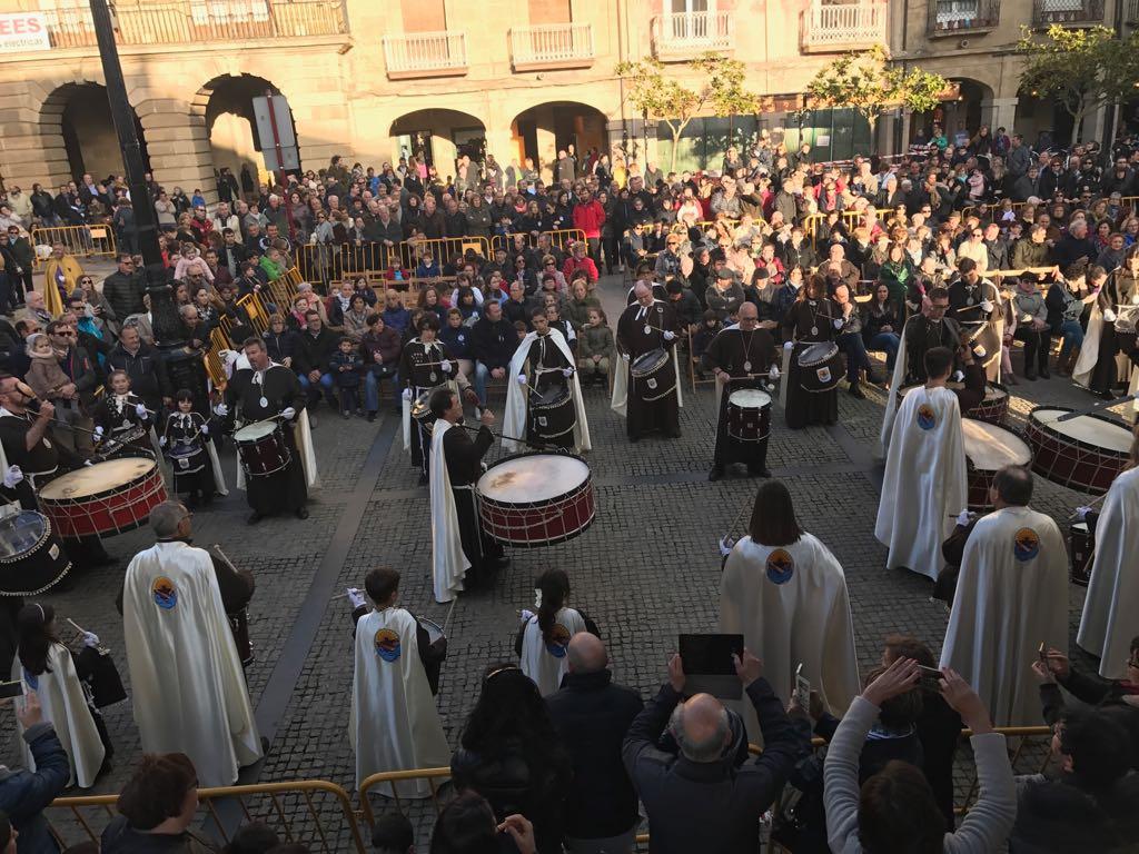 Éxito de público en la segunda Exaltación Nacional de Bandas de Cornetas y Tambores 'Ciudad de Haro' 1
