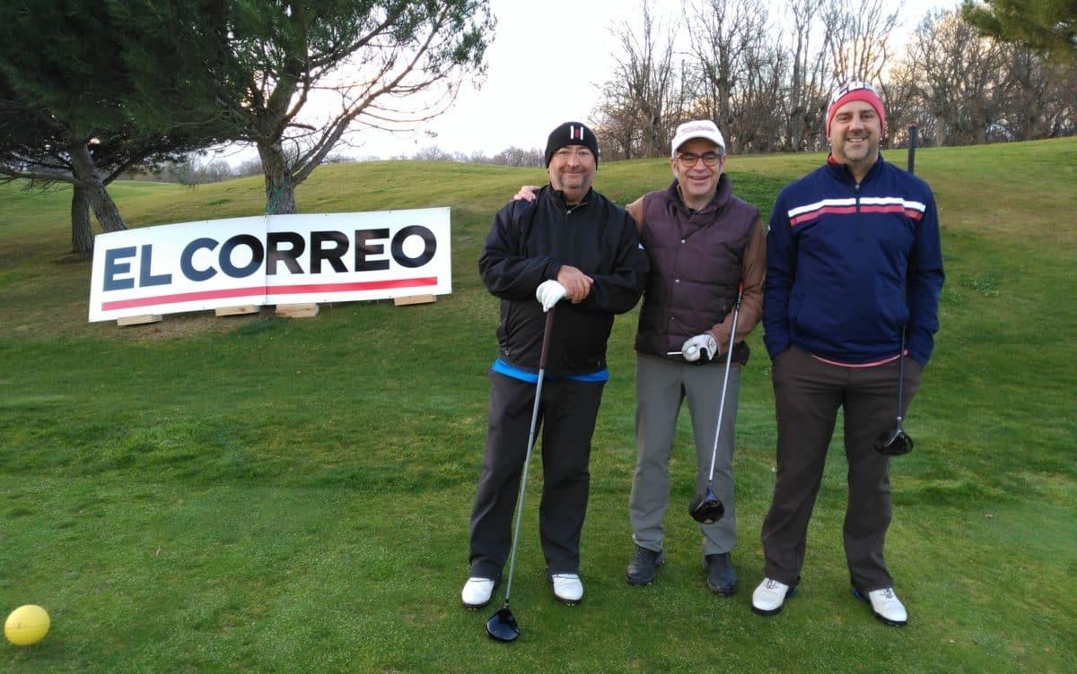 La segunda jornada del Torneo de Golf Amateur 'El Correo', en imágenes 1