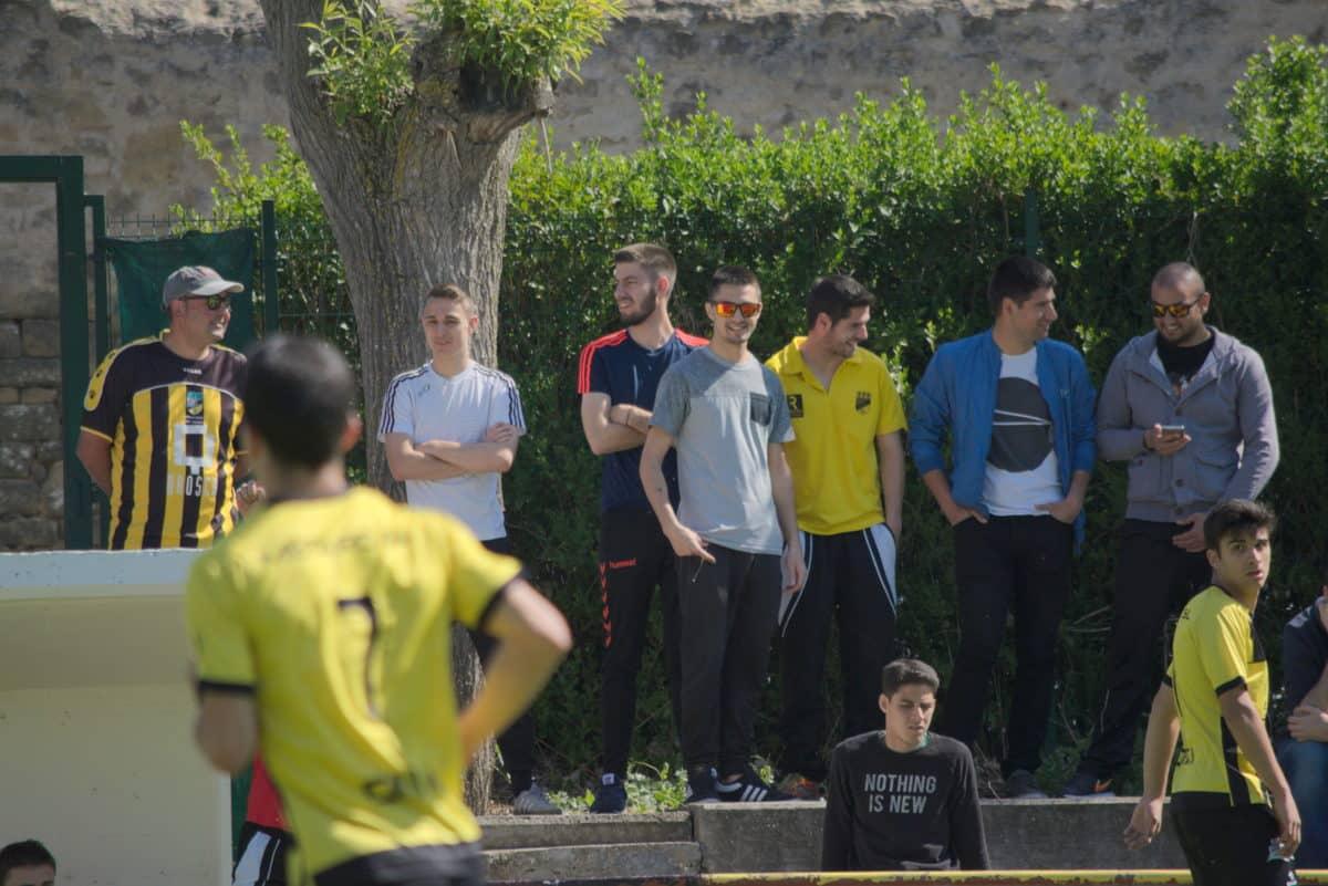 Las imágenes del sufrido triunfo de la SD Logroñés sobre el Casalarreina 9