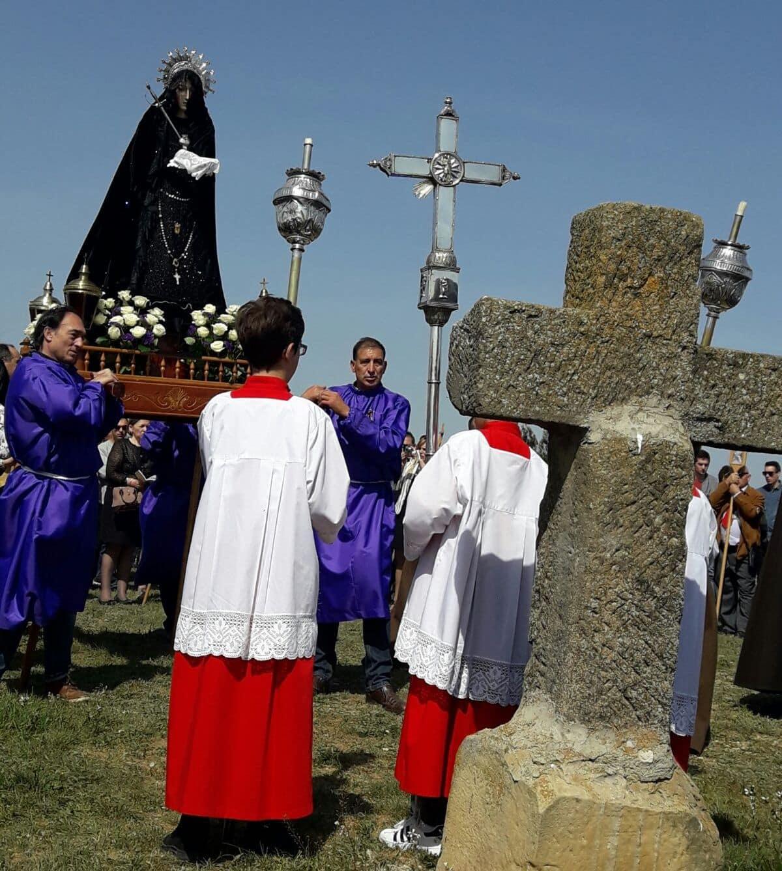Los 'Picaos' en la procesión del Vía Crucis de San Vicente de la Sonsierra 20