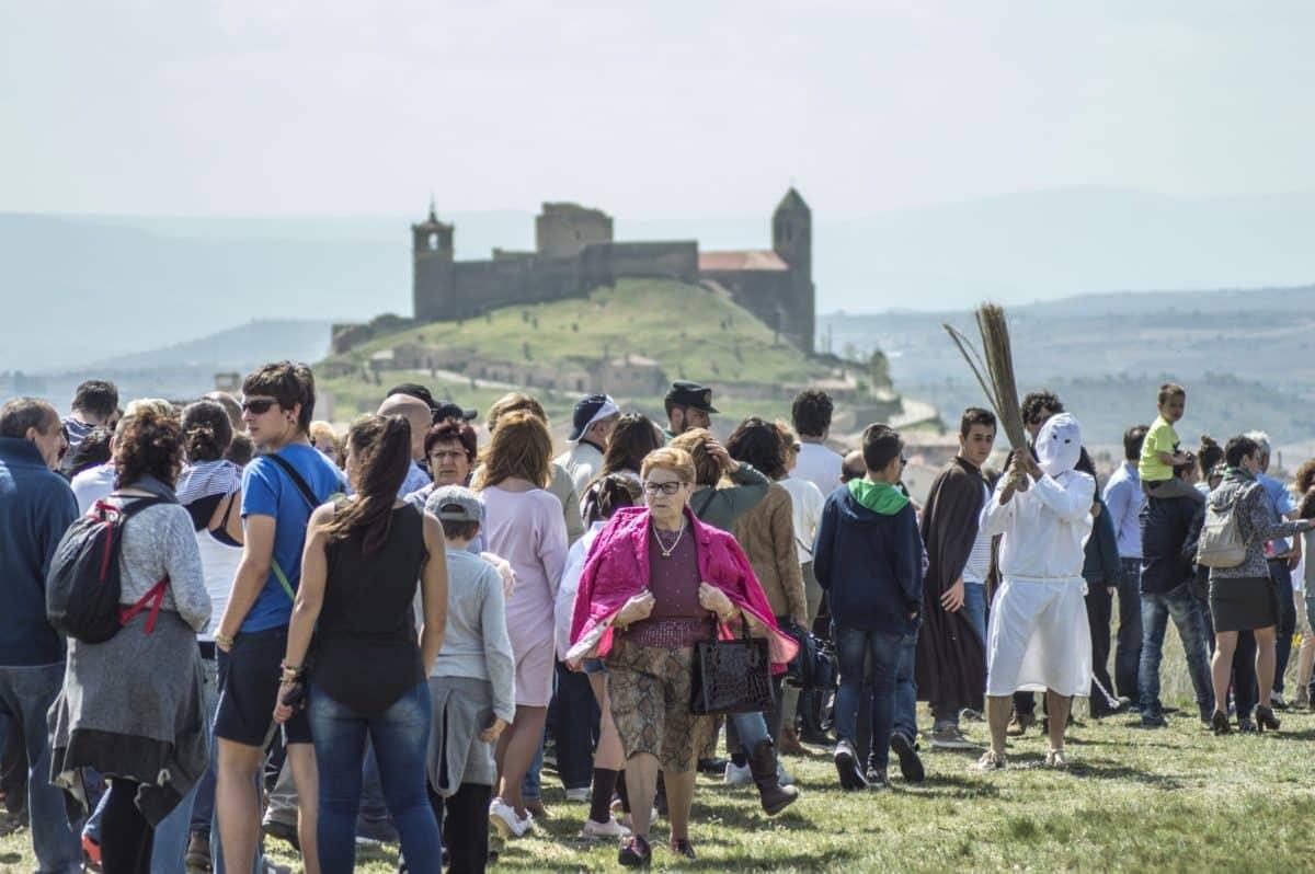 Los 'Picaos' en la procesión del Vía Crucis de San Vicente de la Sonsierra 26