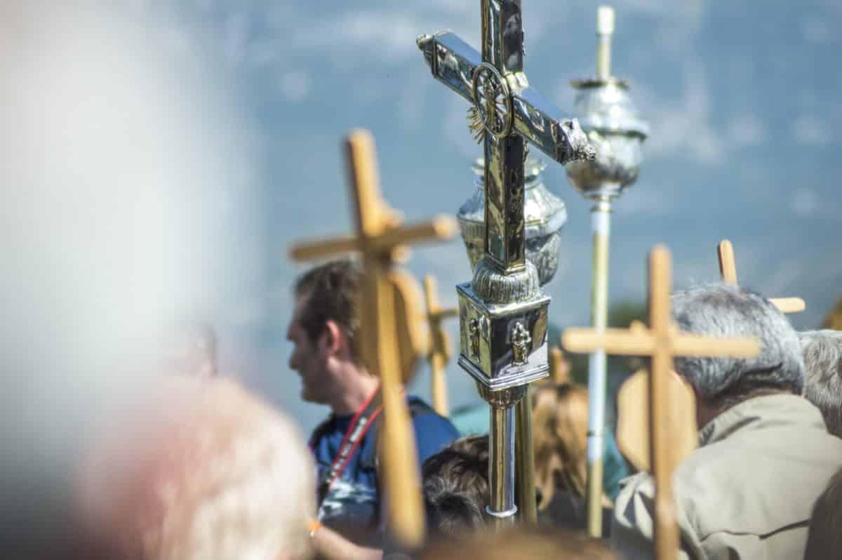 Los 'Picaos' en la procesión del Vía Crucis de San Vicente de la Sonsierra 23