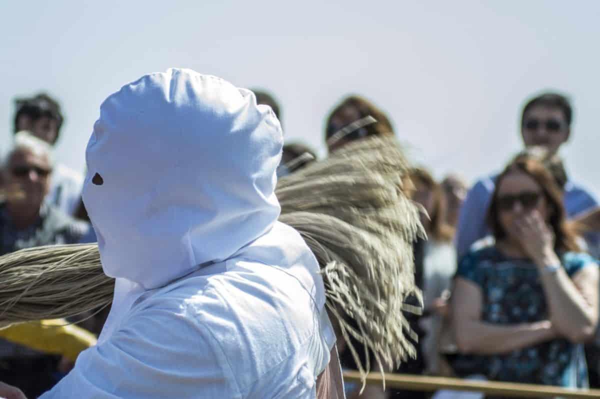 Los 'Picaos' en la procesión del Vía Crucis de San Vicente de la Sonsierra 19