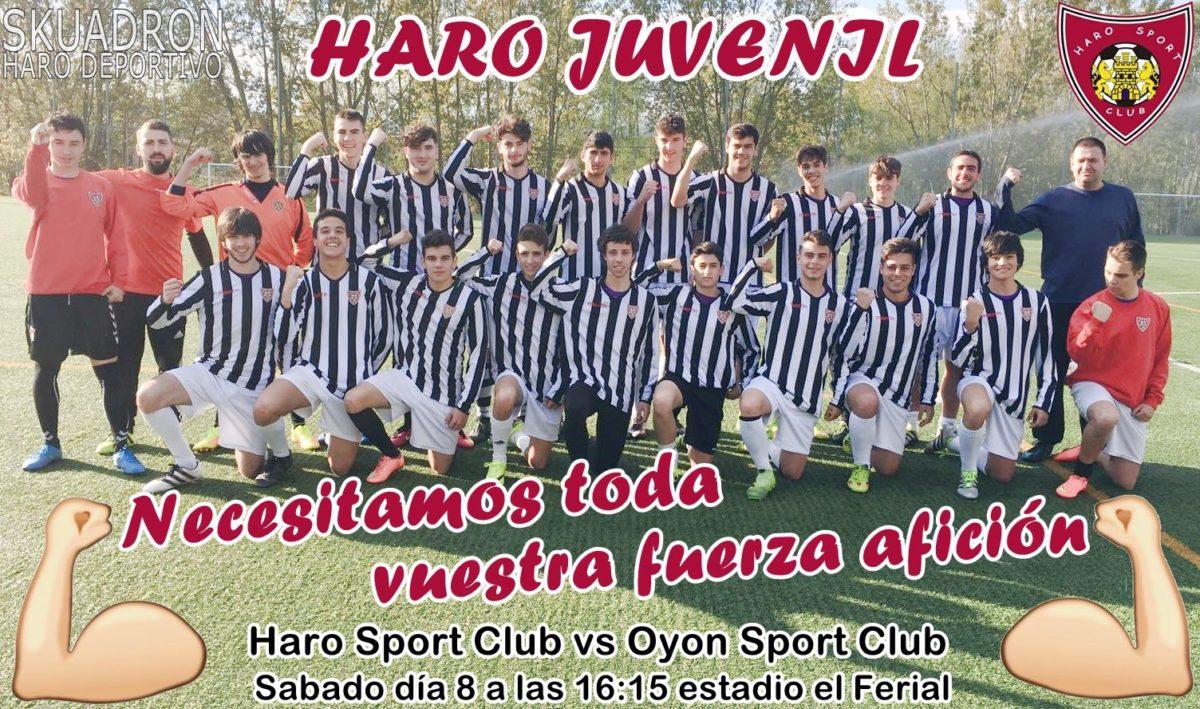 Partido que puede ser clave para el juvenil del Haro Sport Club 1