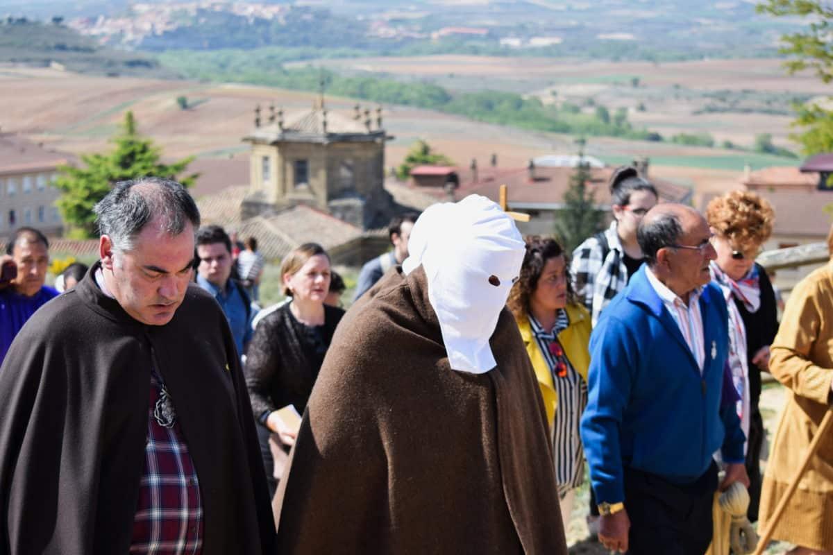 Los 'Picaos' en la procesión del Vía Crucis de San Vicente de la Sonsierra 4