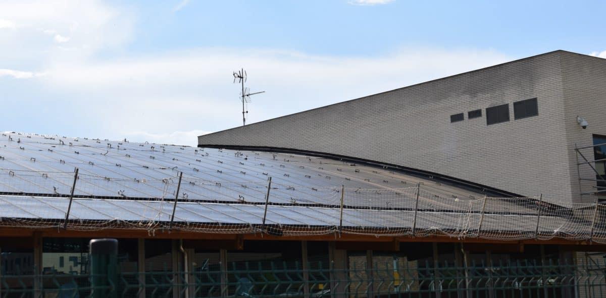En marcha la construcción de las nuevas pistas cubiertas de pádel de El Mazo 5