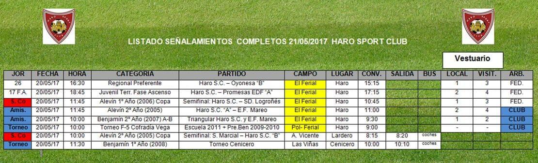Haro Sport Club, CD Corazonistas y Jarrero FC disputan este sábado el Torneo Cofradía Virgen de la Vega 5