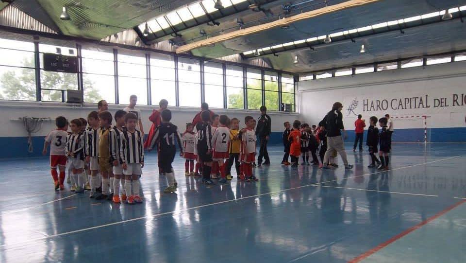 Haro Sport Club, Corazonistas y Jarrero disputan este sábado el XVI Torneo de Fútbol Sala Cofradía Virgen de la Vega 1