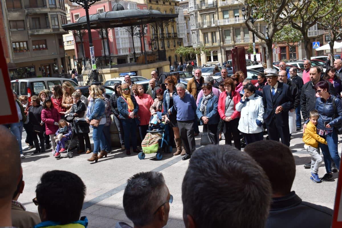 Las imágenes de la concentración en contra de los despidos en Bodegas Bilbaínas 11
