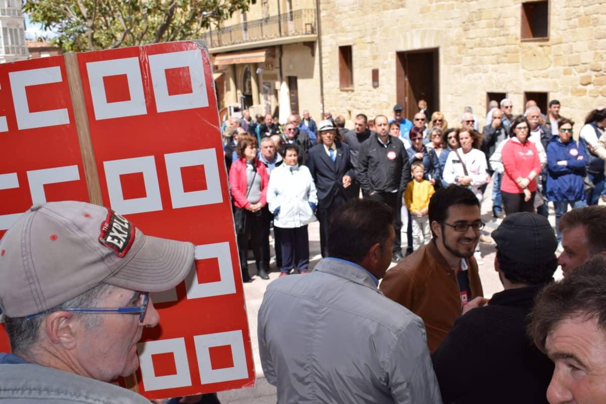 Las imágenes de la concentración en contra de los despidos en Bodegas Bilbaínas 12