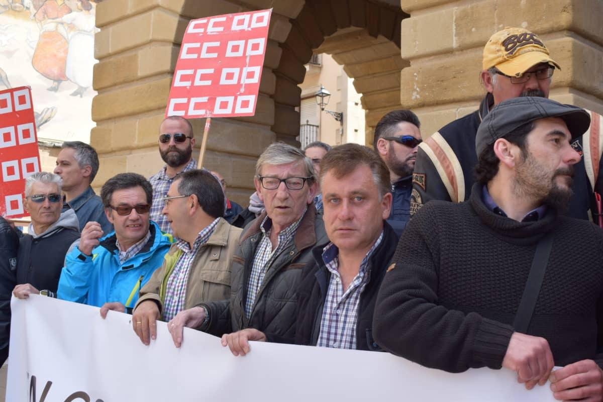 Las imágenes de la concentración en contra de los despidos en Bodegas Bilbaínas 15
