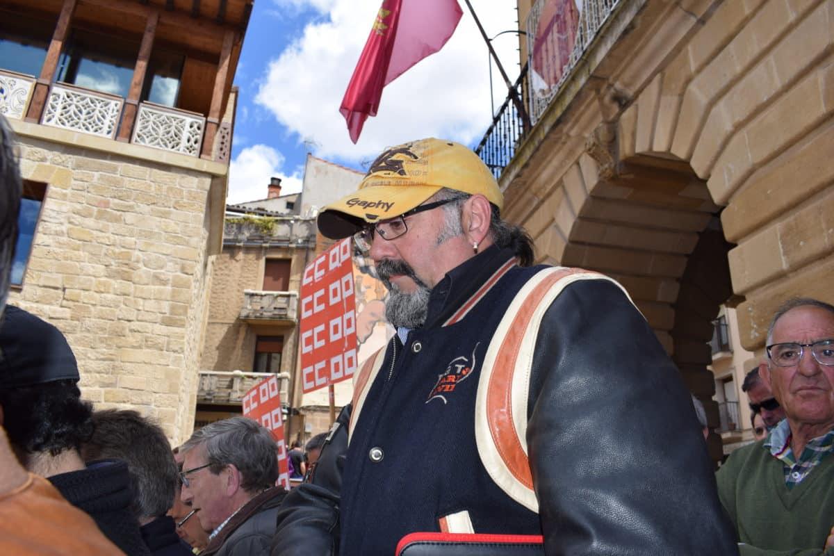 Las imágenes de la concentración en contra de los despidos en Bodegas Bilbaínas 16