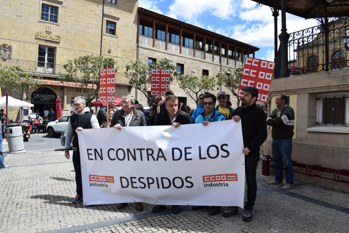 Las imágenes de la concentración en contra de los despidos en Bodegas Bilbaínas 20