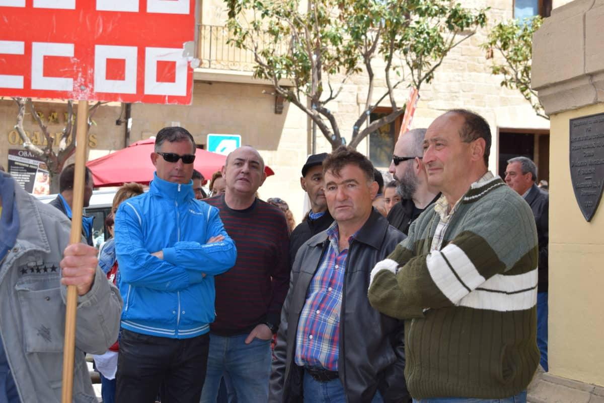 Las imágenes de la concentración en contra de los despidos en Bodegas Bilbaínas 21