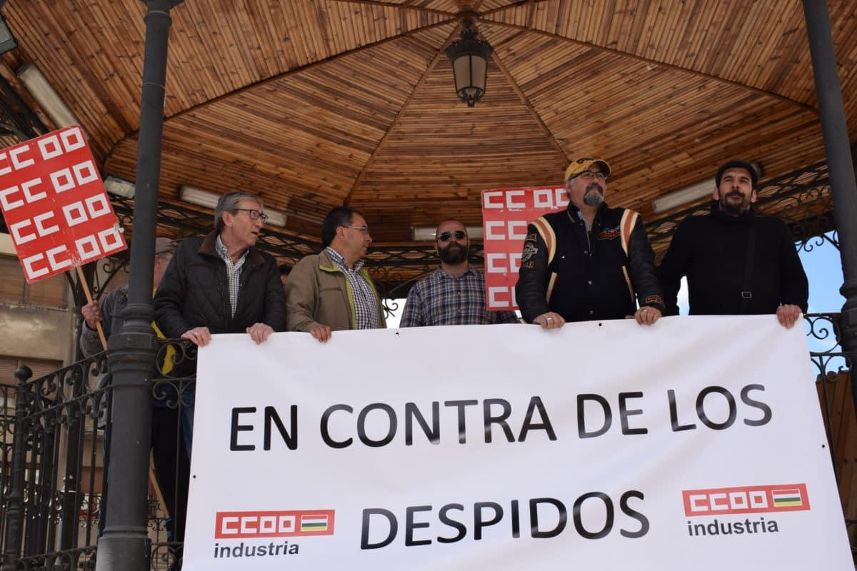 Las imágenes de la concentración en contra de los despidos en Bodegas Bilbaínas 22