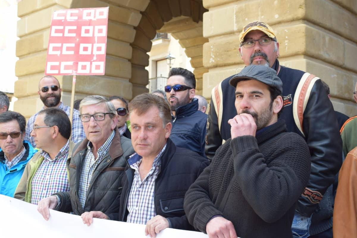 Las imágenes de la concentración en contra de los despidos en Bodegas Bilbaínas 7