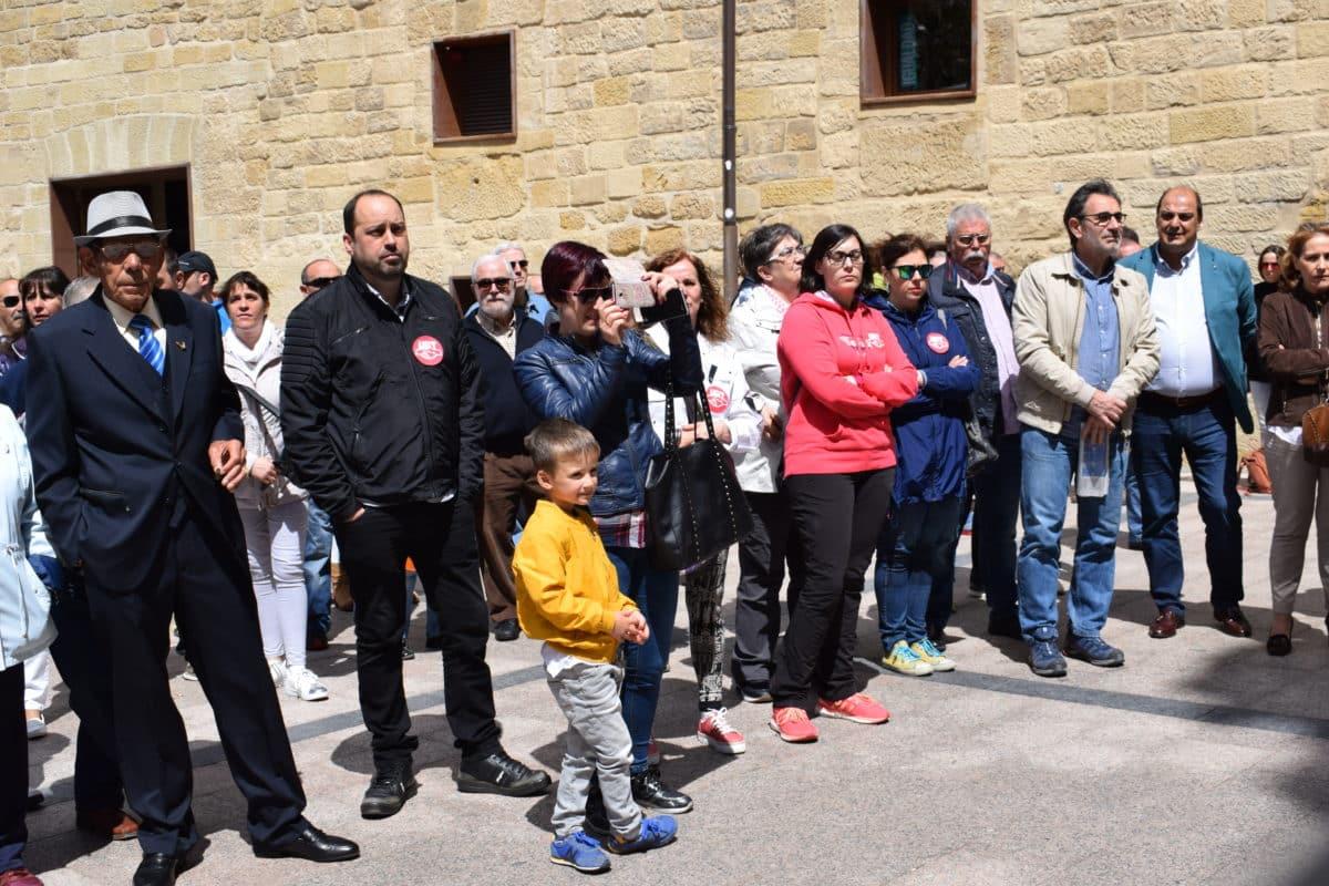 Las imágenes de la concentración en contra de los despidos en Bodegas Bilbaínas 9