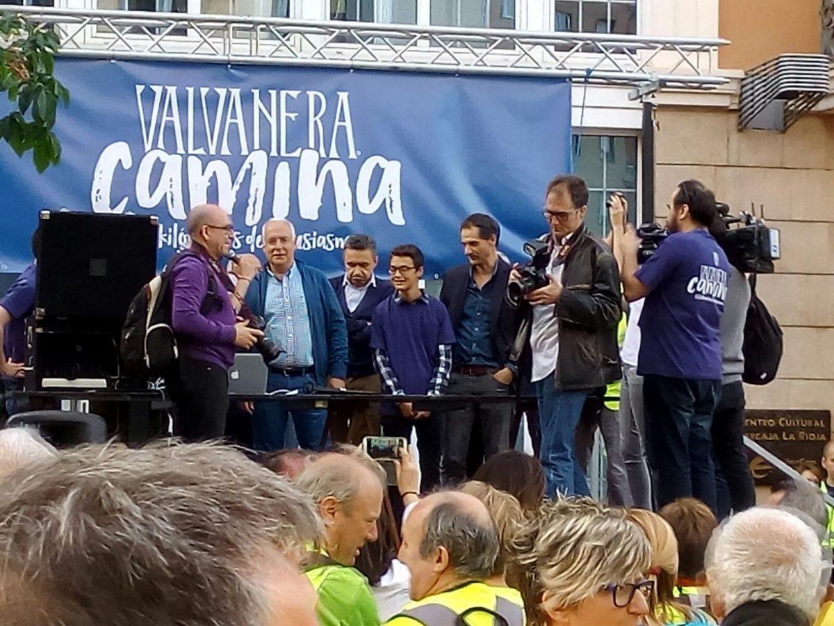 Más de 500 personas participan en la romería Valvanera Camina, la sustituta de la Valvanerada 2