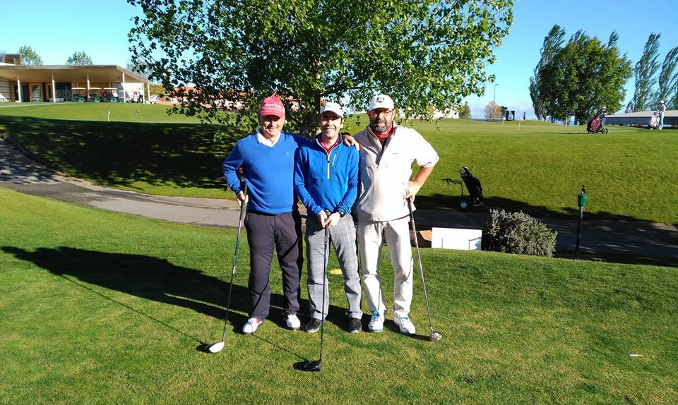 Pedro Ortega y Naroa Pellejero dominan la clasificación general del Torneo de Golf Amateur 'El Correo' 10