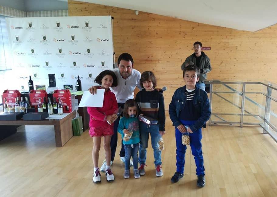 Pedro Ortega y Naroa Pellejero dominan la clasificación general del Torneo de Golf Amateur 'El Correo' 11