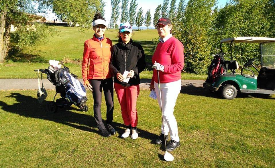 Pedro Ortega y Naroa Pellejero dominan la clasificación general del Torneo de Golf Amateur 'El Correo' 12