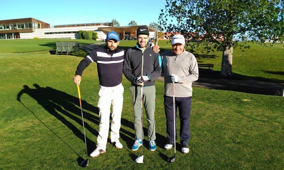 Pedro Ortega y Naroa Pellejero dominan la clasificación general del Torneo de Golf Amateur 'El Correo' 9