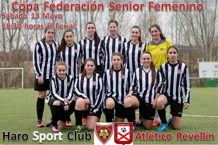 Último partido de la temporada del equipo femenino del Haro Sport Club 1