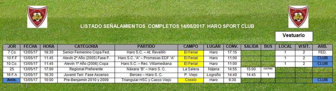 Último partido de la temporada del equipo femenino del Haro Sport Club 2