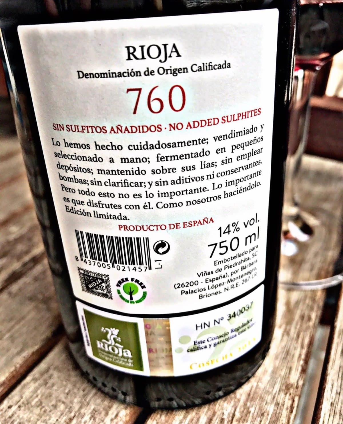 Viñas de Piedrahita 760 Cosecha 2015 1
