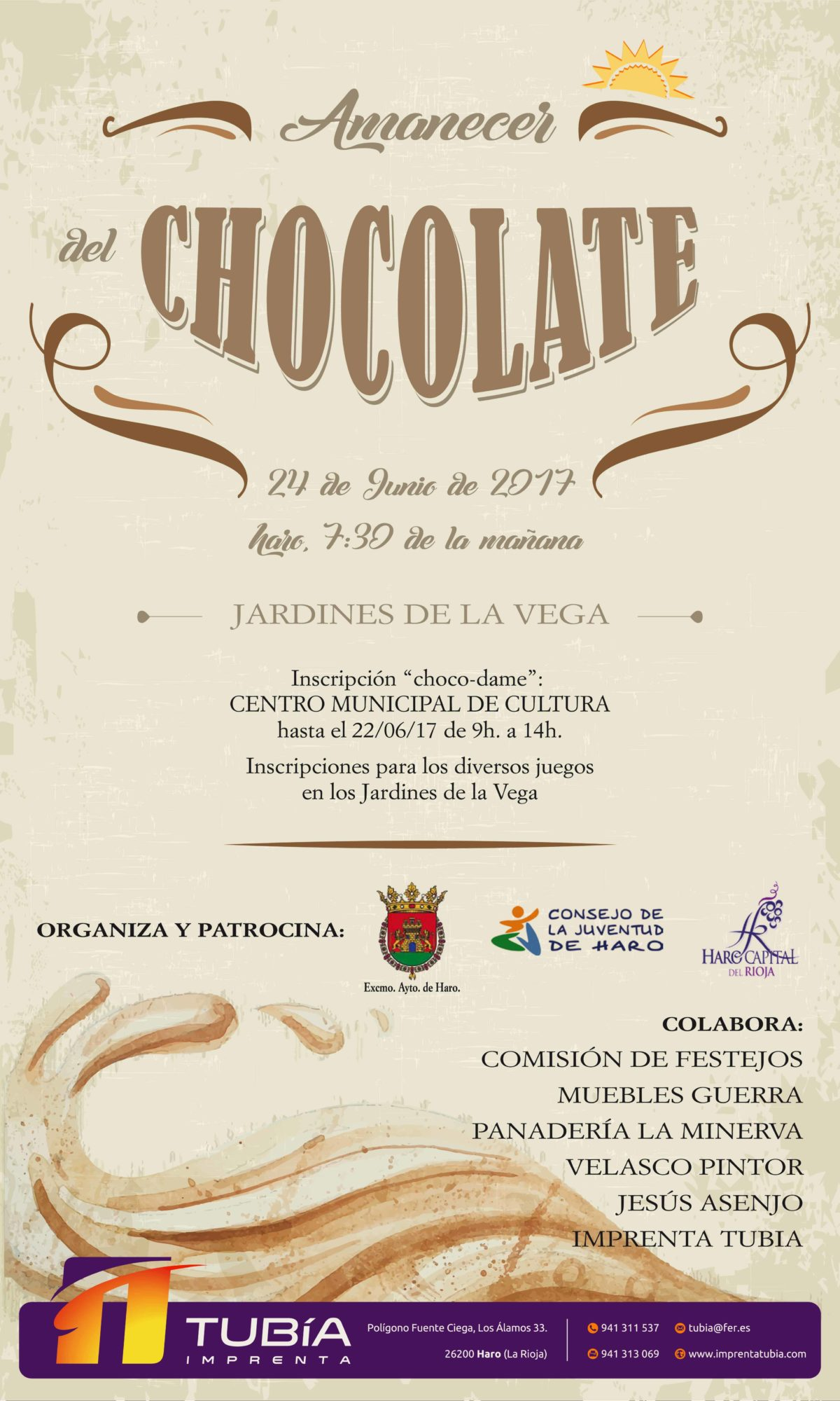 'Amanecer del chocolate' para festejar San Juan 1