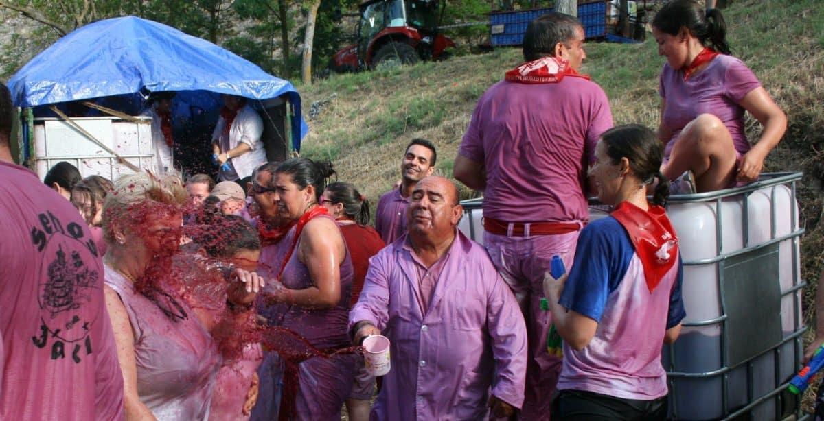 ¿Quieres que la Batalla del Vino sea declarada Fiesta de Interés Turístico Internacional? 2