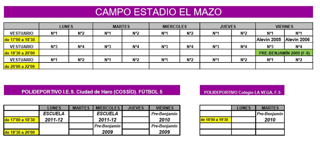 El Haro Sport Club inicia su campaña de captación para la temporada 2017-2018 1