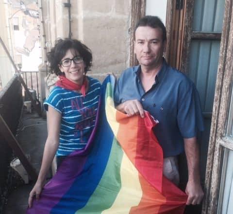 La bandera LGTBI ya ondea en el Ayuntamiento de Haro 1