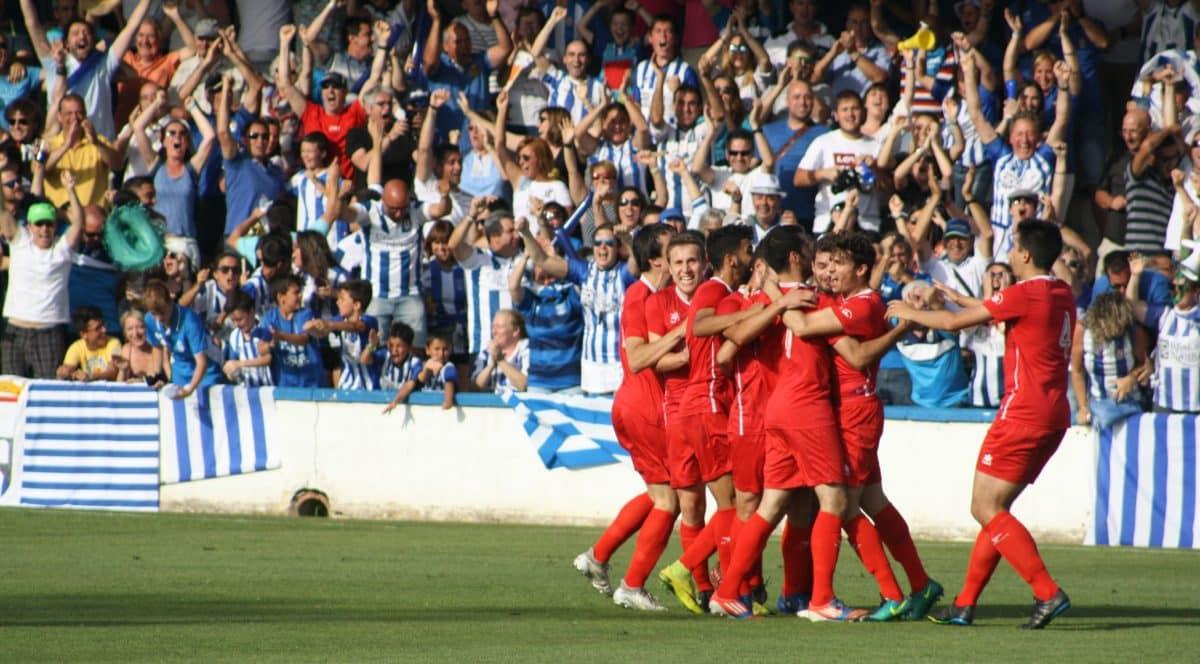 Las fotos del Peña Sport-Náxara de playoff 10