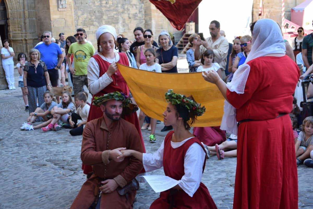 Las imágenes del primer día de las Jornadas Medievales de Briones 2017 6