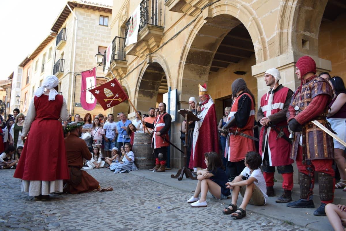 Las imágenes del primer día de las Jornadas Medievales de Briones 2017 7